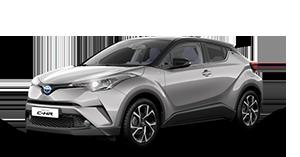 Toyota C-HR - Concessionaria Toyota Caserta e Pozzuoli